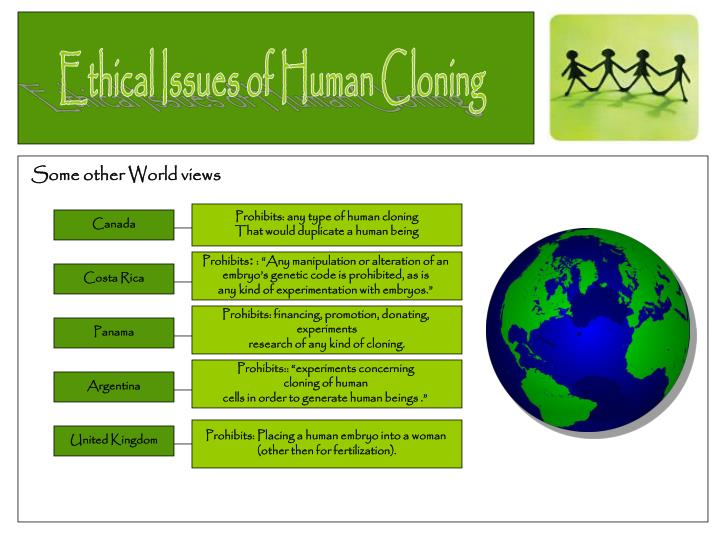 the issue of cloning and human cloning