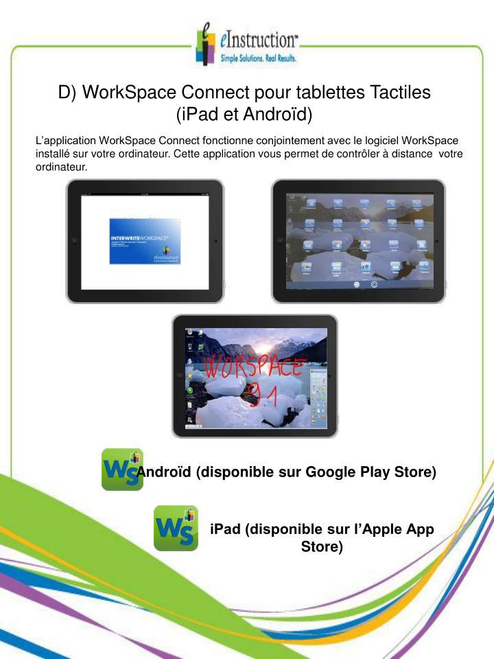 D) WorkSpace