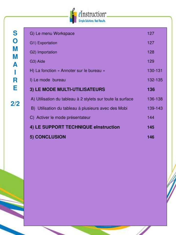 Guide d utilisation du logiciel workspace 9