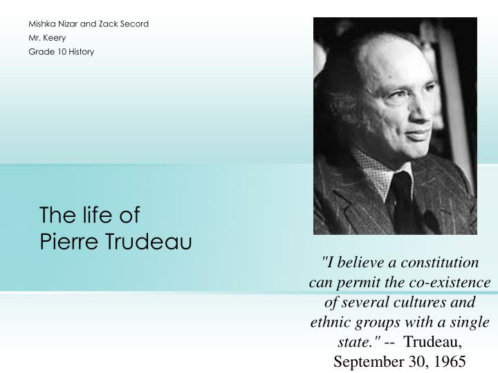 pierre trudeau essay conclusion Essay/term paper: neil armstrong essay, term paper you can hire a professional writer here to write you a high quality authentic essay pierre trudeau pierre.
