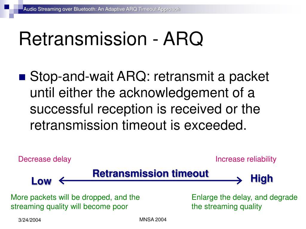 Arq Stream