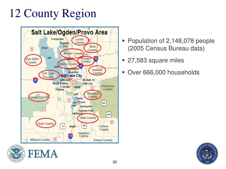 12 county region