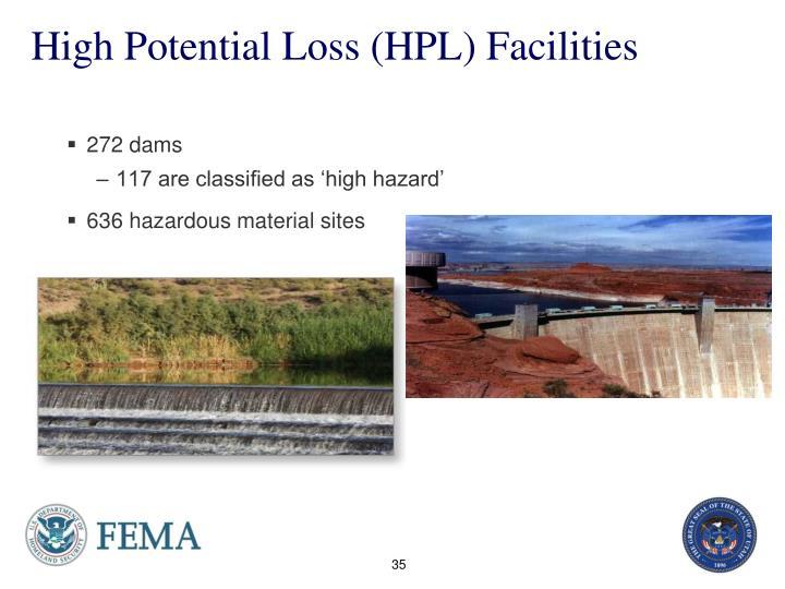 High Potential Loss (HPL) Facilities