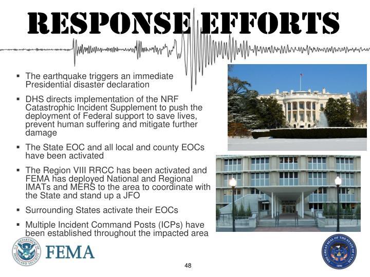 response efforts