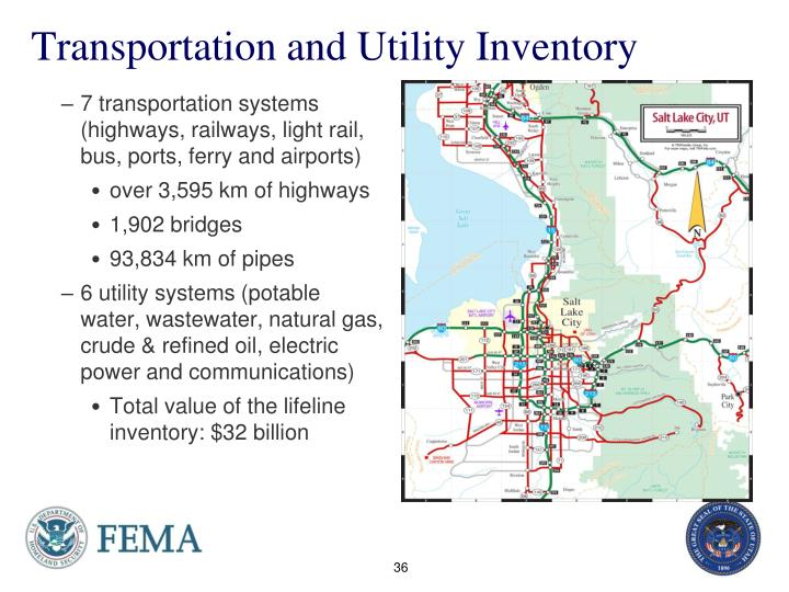 Transportation and Utility Inventory