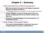 chapter 2 summary