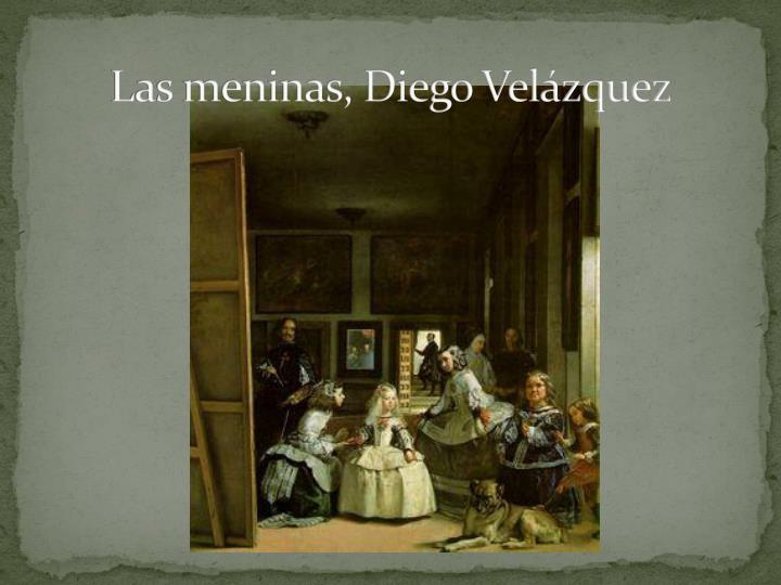 Las meninas, Diego Velázquez