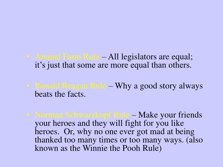 Cardinal Rules of Advocacy
