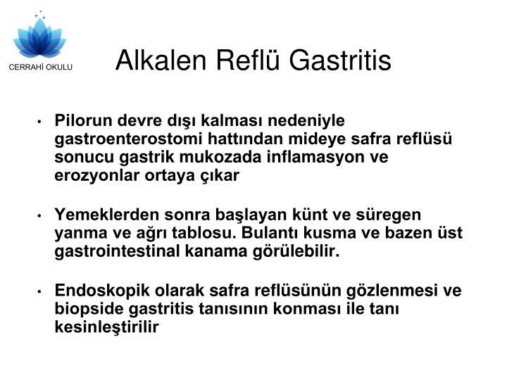 Alkalen refl gastritis