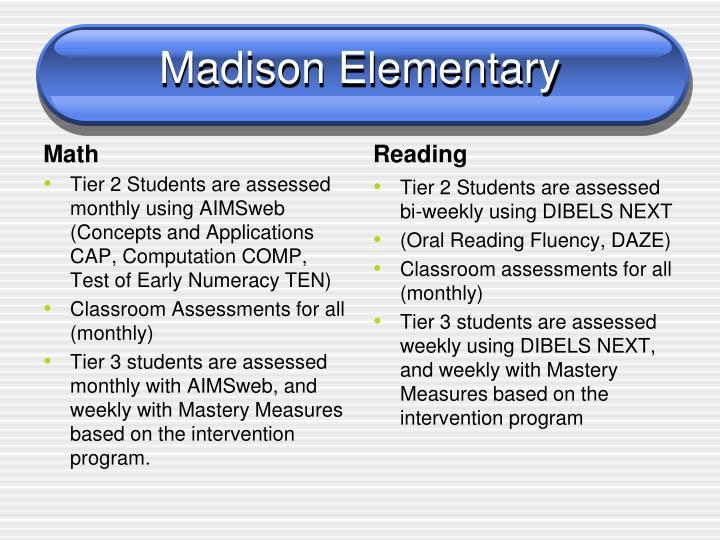 Madison Elementary