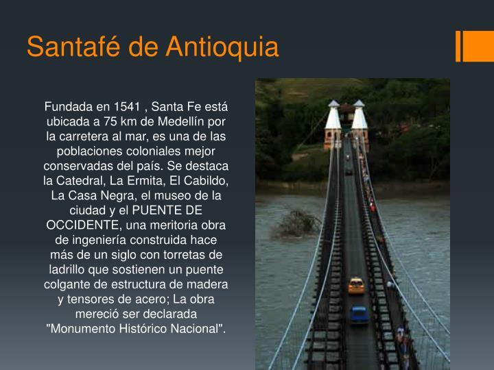 Santafé de Antioquia