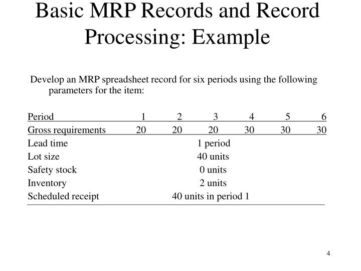 what is the role of safety stock in an mrp system Safety stock – the quantity of inventory kept on hand by a company in the event of fluctuating usage or unusual delays in lead time is called safety stock if usage is entirely constant and lead time is known with certainty, the order point is equal to daily usage multiplied by lead time :.