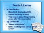 poetic license1
