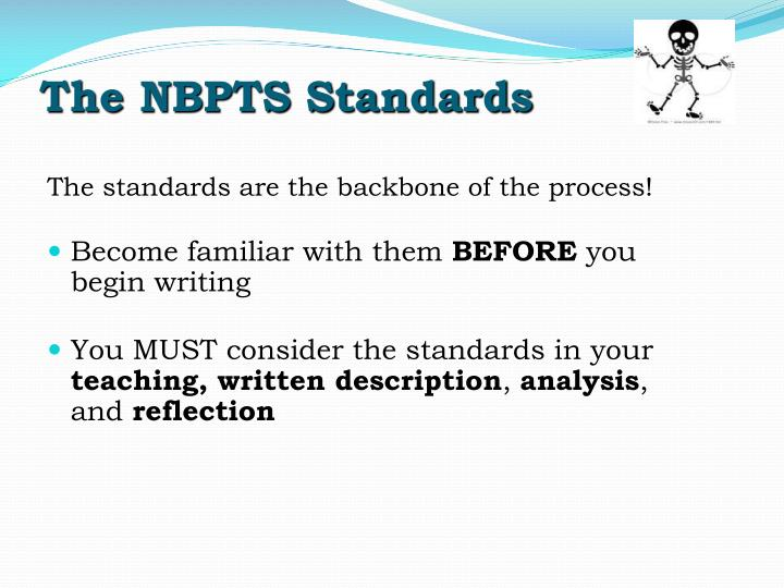 The NBPTS Standards
