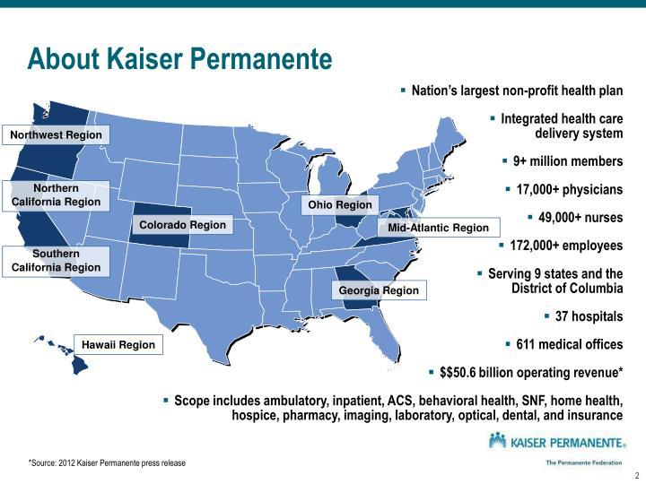About kaiser permanente