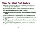 code for stack architecture6