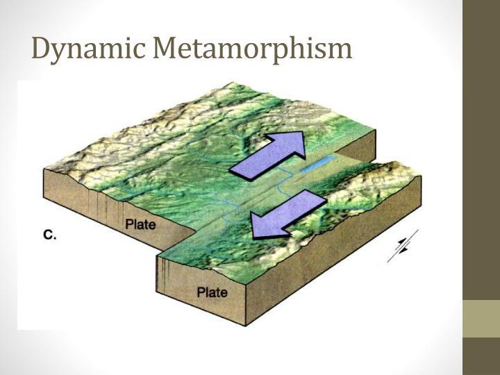 Dynamic Metamorphism