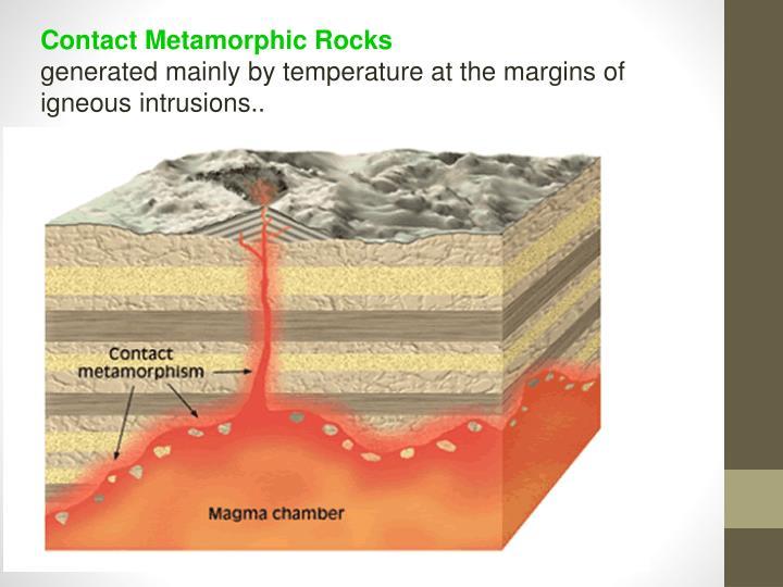 Contact Metamorphic Rocks