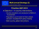 multi annual strategy 2