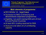 thematic programme non state actors and local authorities in development 1