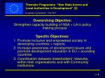 thematic programme non state actors and local authorities in development 2