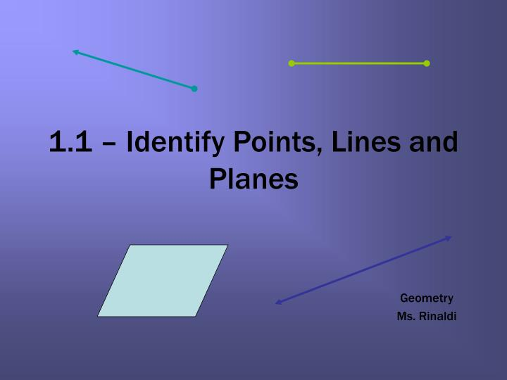 1 1 identify points lines and planes n.