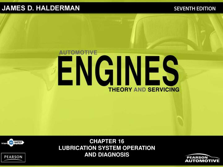 chapter 16 lubrication system operation and diagnosis n.