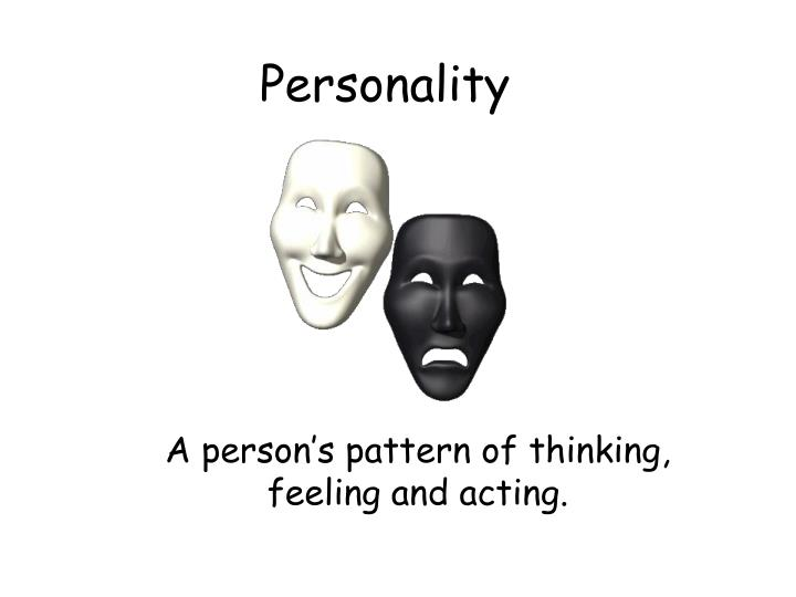 personality n.