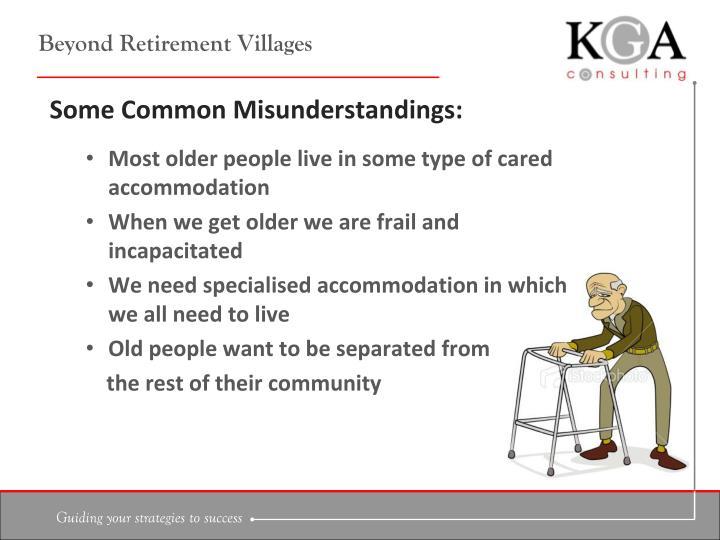 Beyond retirement villages1