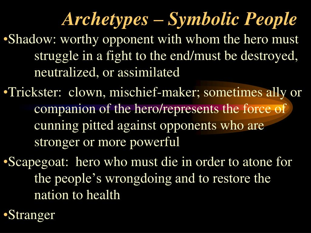 PPT - Archetypes – Journey of the Hero PowerPoint