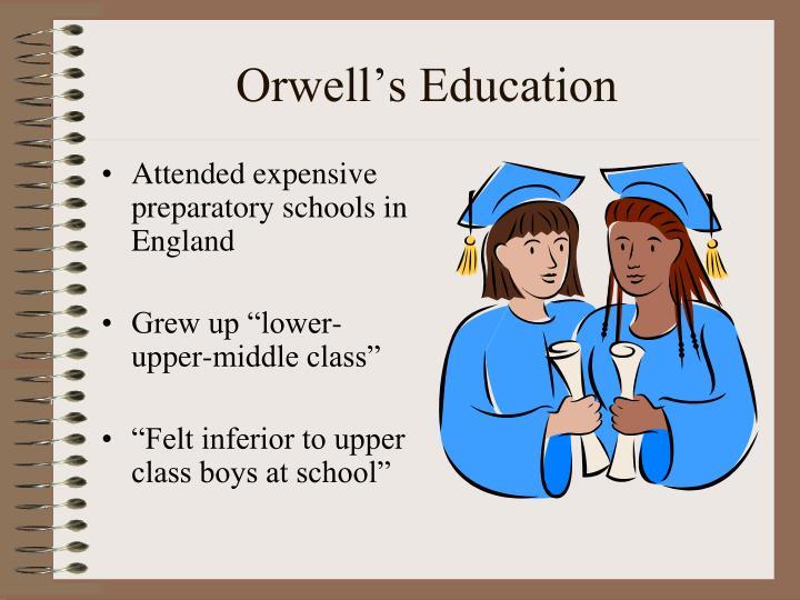 Orwell s education
