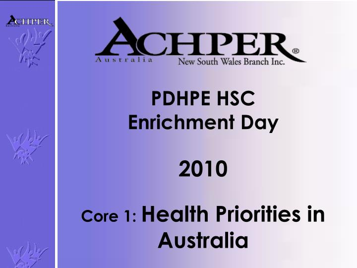 pdhpe core summaries Miss ratusau's senior pdhpe: follow me home get your study on hsc: core 1 hsc core 2 hsc option 1 hsc core 1: better health for individuals.