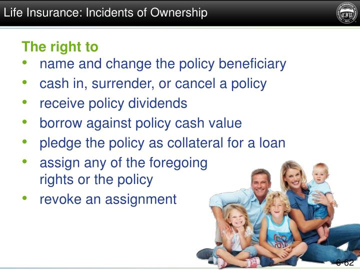 Life Insurance: Incidents of Ownership