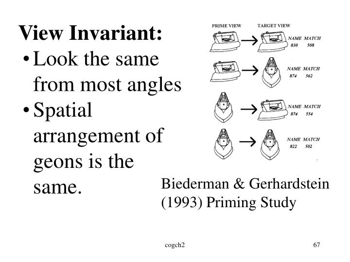 View Invariant: