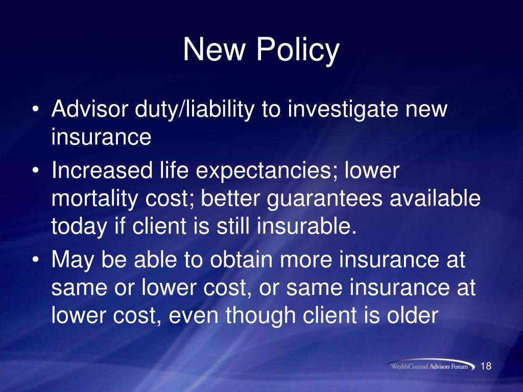 PPT - Fixing Common Problems with Life Insurance and Life ...