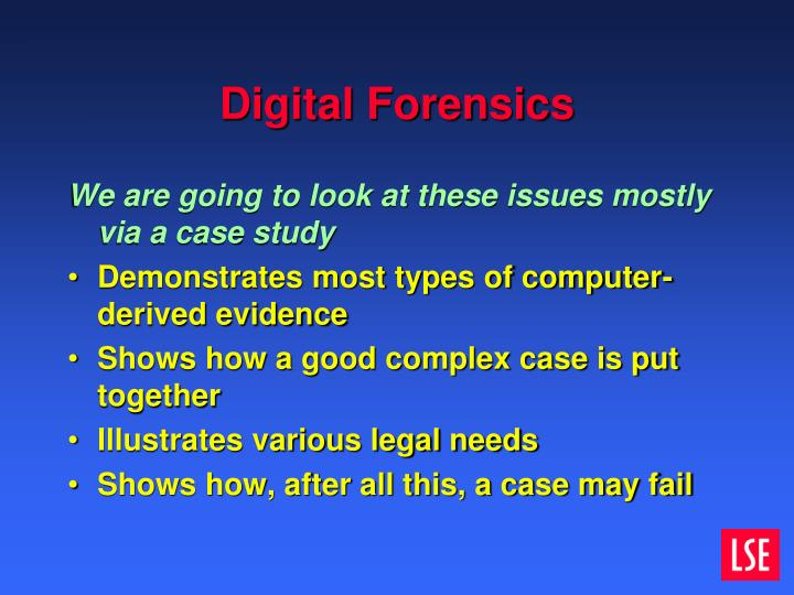 Digital Forensics