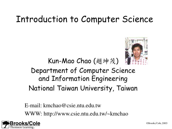 introduction to computer science n.