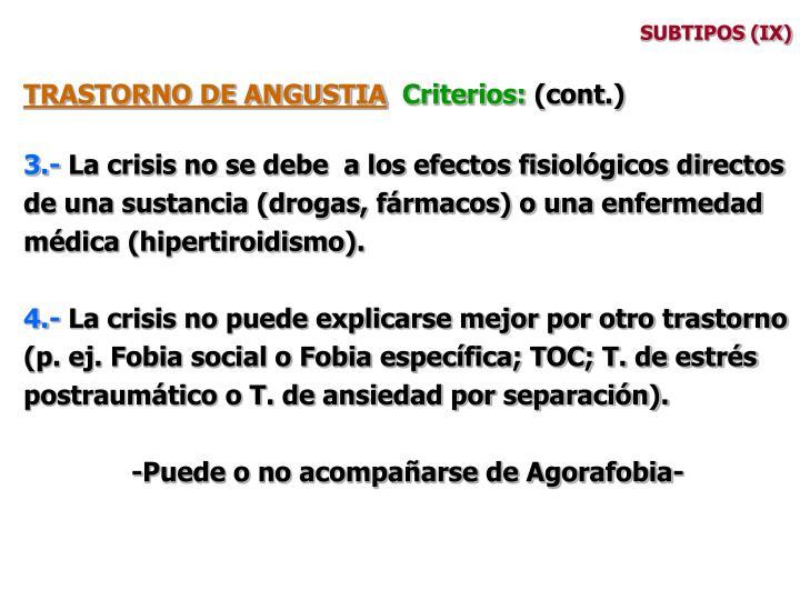 SUBTIPOS (IX)