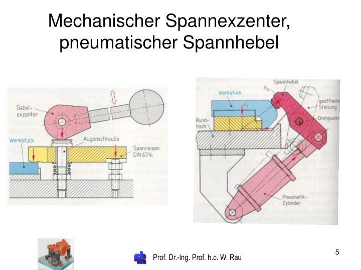 Mechanischer Spannexzenter,
