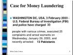 case for money laundering