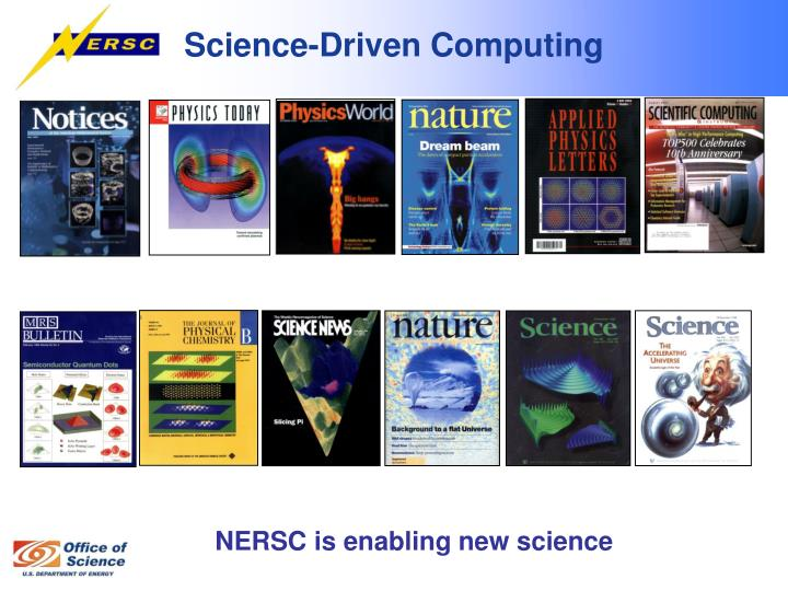 Science driven computing