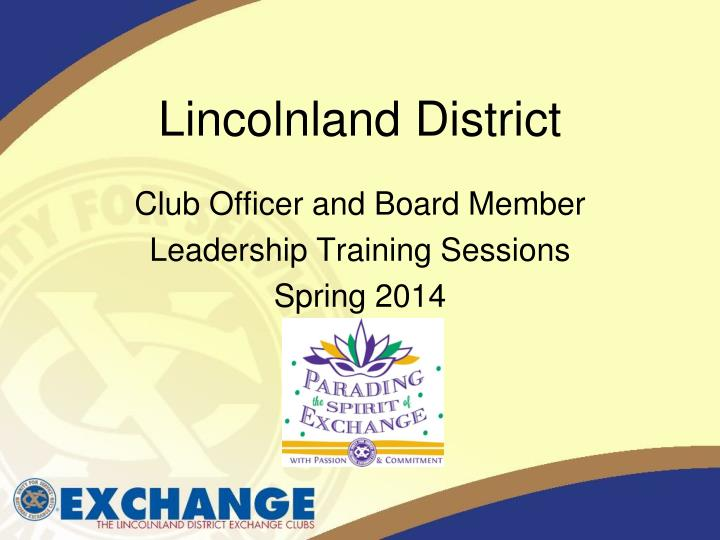 lincolnland district n.
