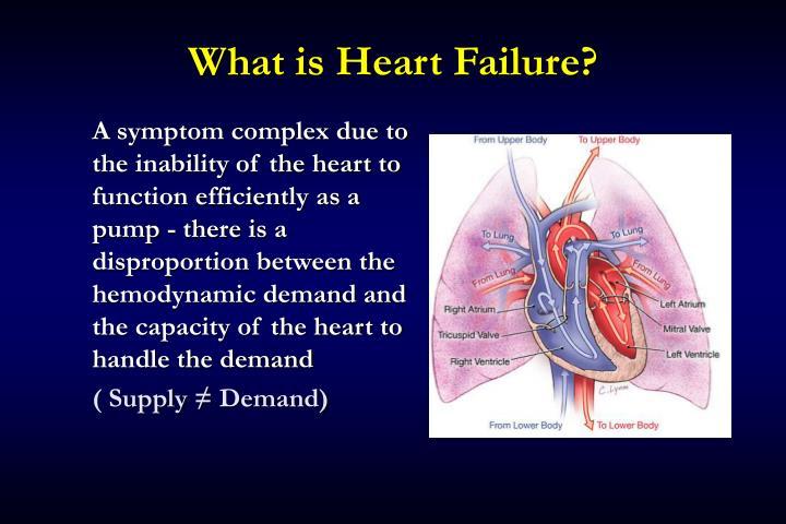 What is heart failure