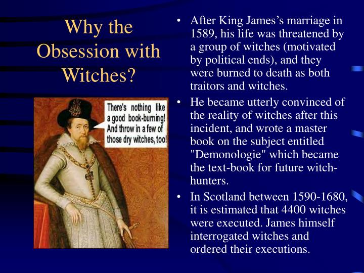 Why the Obsession with Witches?