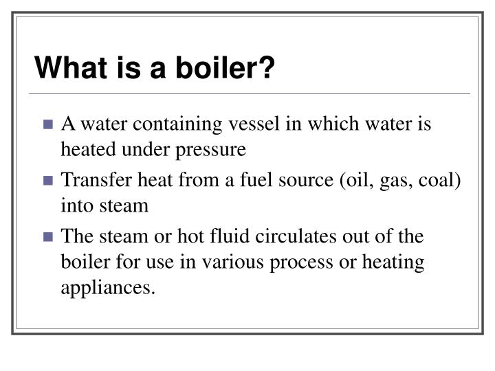 PPT - Boilers PowerPoint Presentation - ID:7059925