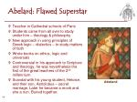 abelard flawed superstar