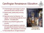 carolingian renaissance education