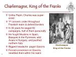 charlemagne king of the franks