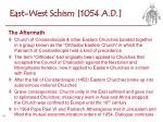 east west schism 1054 a d7