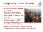 saving europe tours poitiers